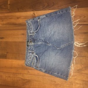 Perfect BDG from UO Jean skirt
